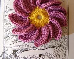 Flor 1000 P�talas em crochet