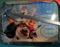Marmita personalizada Frozen (mini)