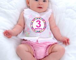 Adesivos de 1 a 12 meses - Meninas