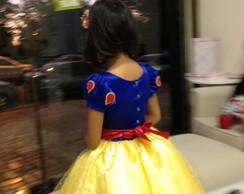Fantasia Princesa BRANCA DE NEVE