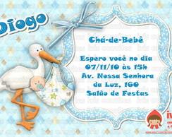 Convite Ch�-de-beb�