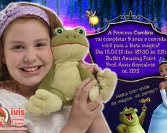 Convite Princesa e o Sapo