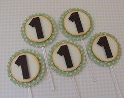 Cod 08655 - Toppers p/ Doce Numero