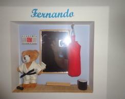 Quadro Decorativo Judoca