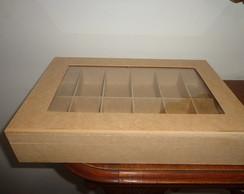 Caixa Organizadora com Vidro