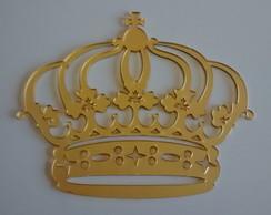 Coroa em acr�lico espelhado