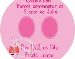 R�tulo Convite Pirulito