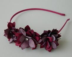 Promo��o Tiara com 3 Flores