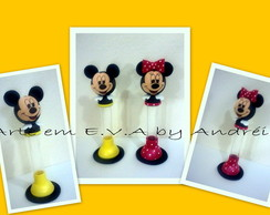Tubetes Decorados Michey e Minnie