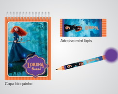 Kit Bloquinho + Mini L�pis - Valente