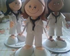 boneca E.V.A enfermeira\fisioterapia