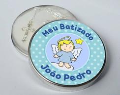 Latinha Batizado Po� e Estrela