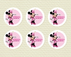 Minnie Rosa - Tags Personalizadas