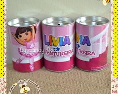 Cofre Personalizado Dora Aventureira