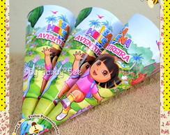 Cone Personalizado Dora Aventureira