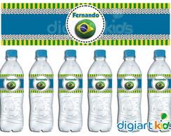 R�tulo para �gua Copa - Brasil