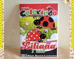 Revista Personalizada Joaninha