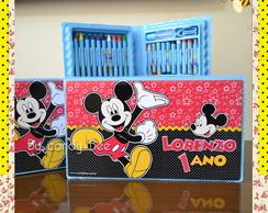 Estojo Personalizado M�dio Mickey Mouse