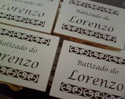 CAIXA PERSONALIZADA BATIZADA LORENZO