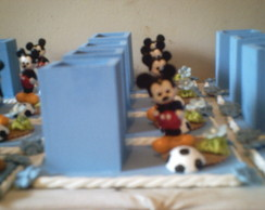 10 Porta L�pis Mickey biscuit