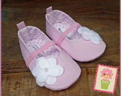 Sapatinho rosa beb�