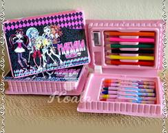Maleta estojo personalizado Monster High