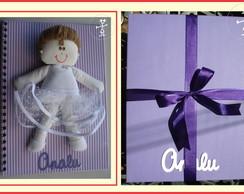 �lbum do beb� + Caixa Personalizada