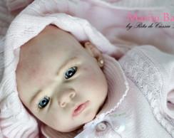 Boneca Reborn Nadine - molde limitado