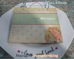 ♥ Mini �lbum - Favorite Recipes