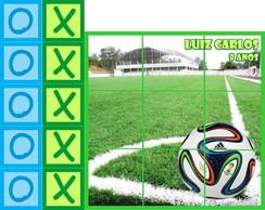 Futebol Campo Futebol Jogo Da Velha