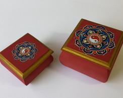 Caixa decorativa  Tao - conjunto