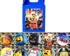 Lego Movie jogo da mem�ria na caixinha