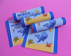 R�tulo Baton Fundo do Mar