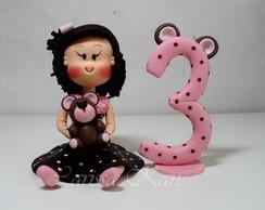 Boneca Personalizada - Tema Ursinha