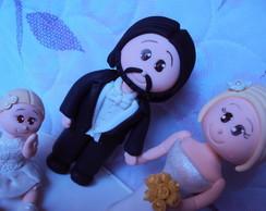 Casal de noivinhos (FOFO)