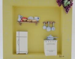 Mini Quadrinho - Cozinha III