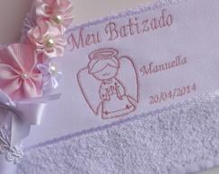 Kit Batizado Anjinho Rosa