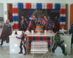 Decora��o Clean Vingadores