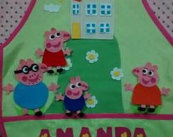 Avental Crian�a Peppa Pig