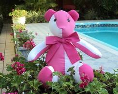 Urso de tecido