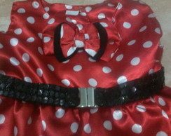 vestido da minnie balone