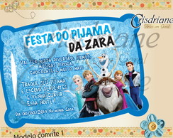Festa Do Pijama Frozen
