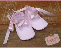 Sapatinho bailarina rosa beb�