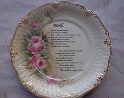 Prato de Porcelana-M�E