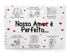 �lbum Scrapbook Amor Perfeito