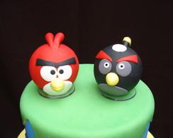 Topo de Bolo - Angry Birds