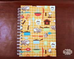 Caderno de Receitas A5 - wire o