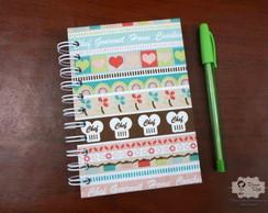 Mini Caderno de Receitas - wire o
