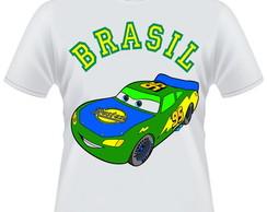 Camiseta Cars/Carros Brasil