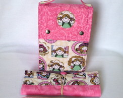 Kit 5-Lunch Bag T�rmica Maior c/ 3 Pe�as